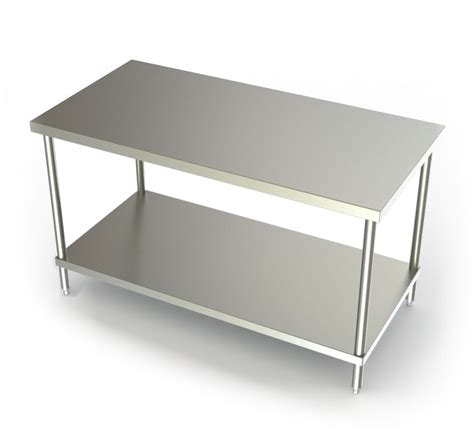 used stainless steel table with stainless steel table top metal top dining room table