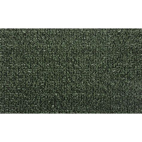 clean machine flair evergreen 36 in x 60 in door mat