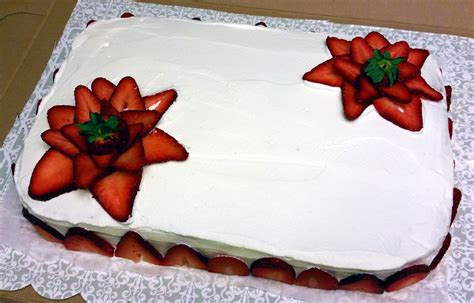 Cake Strawberry Decoration by Cakes The Enchanted Whisk