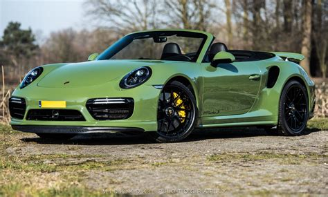 Porsche 911 Turbo S Cabriolet by Porsche 911 Turbo S Cabriolet By Edo Competition Is Green