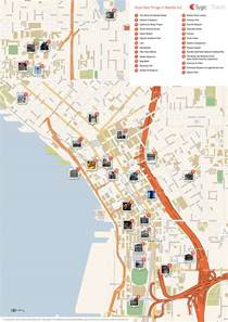 Seattle Attractions Map by Pike Place Market Seattle Tripomatic