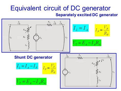 externally excited dc generator wiring diagram wiring