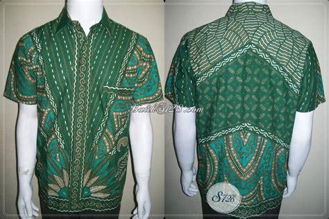 Kemeja Batik Ijo kemeja batik hijau elegan eksklusif dan keren corak unik dan mantap ld387t m toko batik