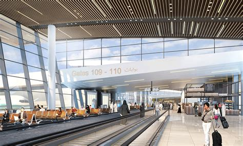 airport design editor gate benoy lands design work for bahrain airport terminal