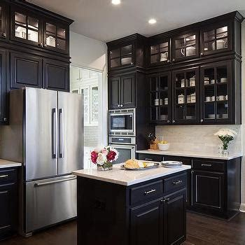 Cabinets Doors To Go White Kitchen Cabinets With Black Countertops Transitional Kitchen Kate Coughlin Interiors