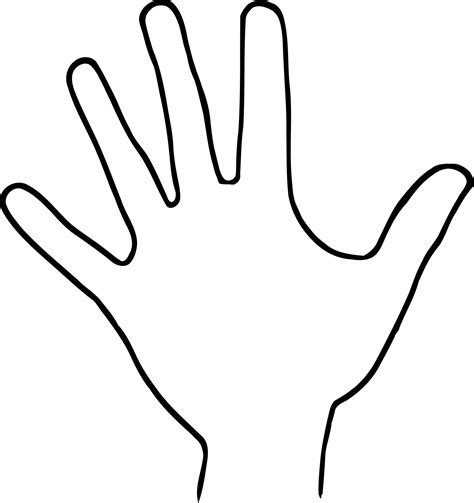 clipart hand