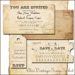 printable train ticket invitation template printable vintage wedding invitations template train