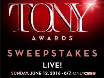 Game Awards 2016 Giveaway - the 2016 broadway across america tony awards sweepstakes