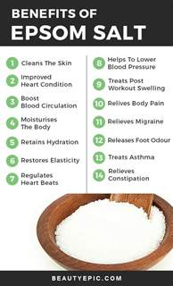 how much epsom salt in bathtub best 20 epsom salt benefits ideas on pinterest epsom