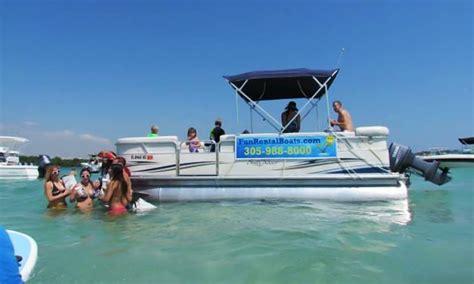 boat rental fort lauderdale prices pontoon boat rentals in fort lauderdale fl