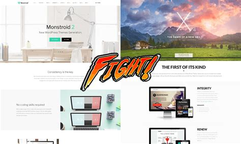 Wordpress Theme X Vs   x theme vs monstroid 2 epic multipurpose battle