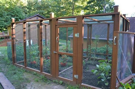 Build A Raised Enclosed Garden Bed Diy Projects For Garden Enclosure Ideas