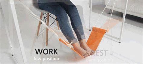 leg hammock for desk fuut the under the desk hammock for your feet