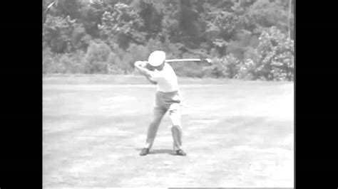 ben hogan slow motion golf swing ben hogan ultra slow motion swing youtube