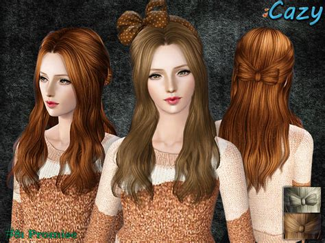 sims 3 hairstyle cheats cazy s promise hairstyle female