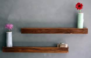 rustic floating shelves large wood upcycle recycle reuse recycled barn wood