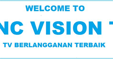 Tv Berlangganan Indovision indovision berubah menjadi mnc vision mnc vision april 2018