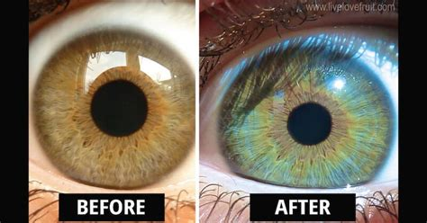 how to change my eye color this is how my changed colour after vegan