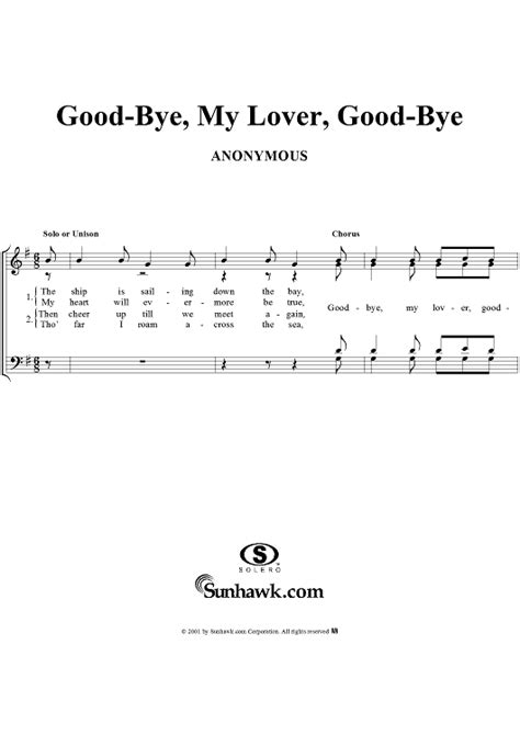 tutorial piano goodbye my lover good bye my lover good bye sheet music for piano and