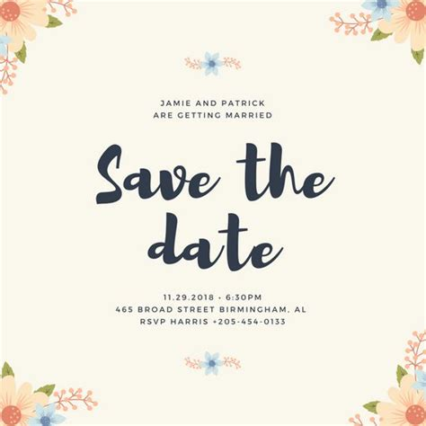 save the date templates word karabas me