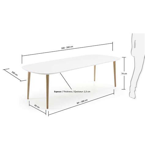tavolo ovale bianco tavolo oakland 160 ovale naturale bianco designperte it
