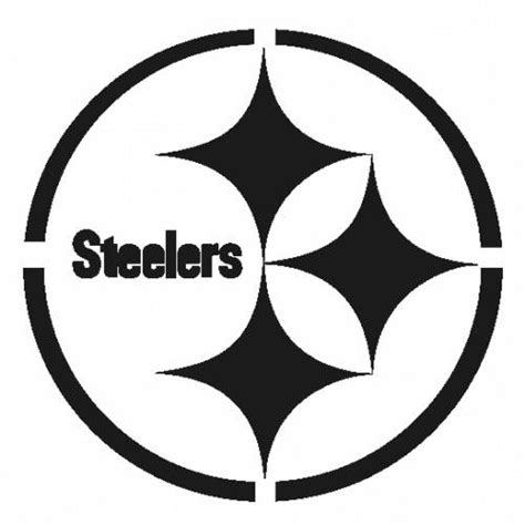 printable nfl pumpkin stencils related keywords suggestions for steelers stencil