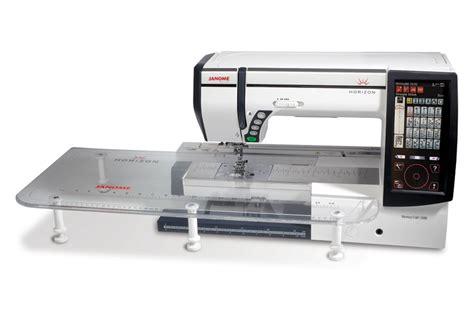 Janome Quilting Machine by Janome Memory Craft Horizon Mc12000 Professional
