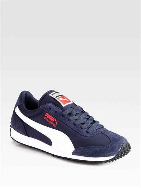 classic sneakers mens whirlwind classic sneakers in blue for navy lyst