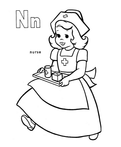 printable nursing images coloring pages of nurses