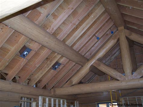 Log Cabin Ceilings by Vaulted Ceiling Lights Studio Design Gallery Best Design