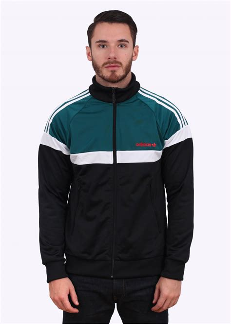 Jaket Emerald Adidas adidas originals itasca track top black emerald