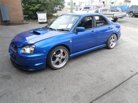 peanut eye subaru wrecking parts subaru impreza wrx 2002 my03 2 0l turbo 5