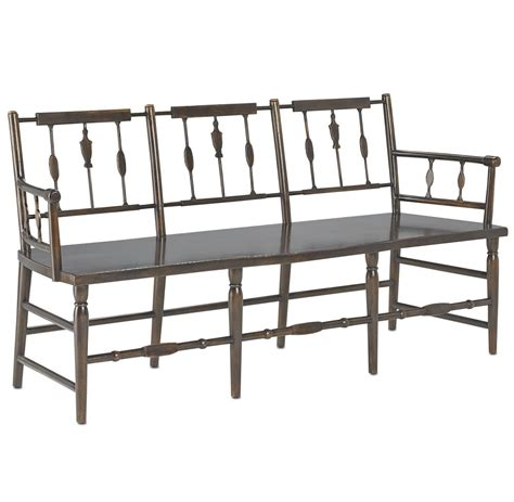 traditional benches colonial charleston 3 seat spindle traditional bench