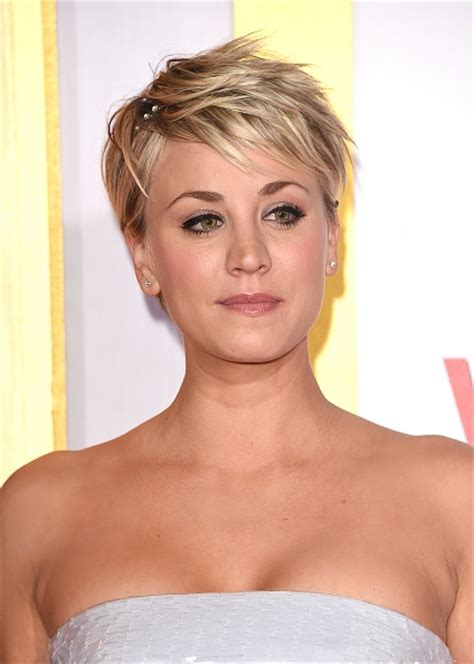 penny with short hair big bang theory actress kaley cuoco new haircut google