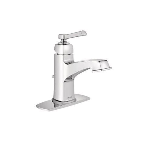 moen bath fixtures direct moen 6200 chrome single bathroom faucet faucetdirect