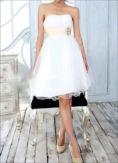 brautkleid knielang brautkleid standesamt kleid knielang