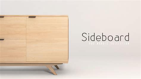 Sideboard Tickets 60 S Sideboard 3d Model