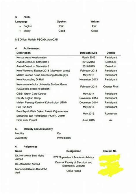 contoh resume untuk guru contoh o download contoh resume terbaik 2015