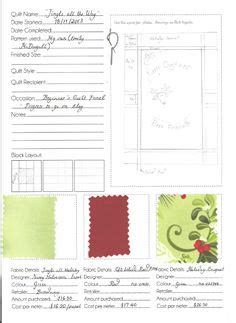 Quilt Journal Template by Quilt Journal Template Images Quilt Journals