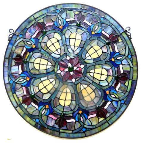 stained glass in home decor accents letters from eurolux chloe lighting tiffany glass baroque window panel