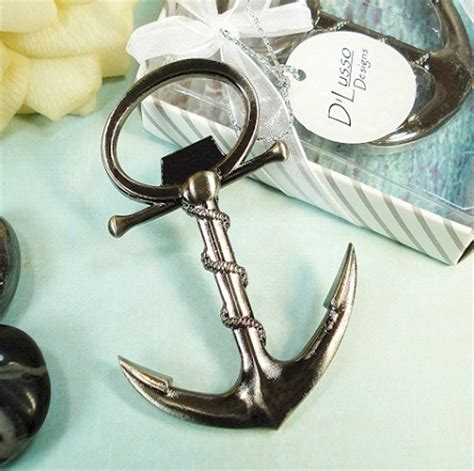 Bottle Opener Giveaways - anchor bottle opener nautical favors