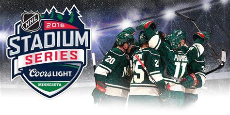 Coors Light Outdoor Series Minnesota 2016 Coors Light Nhl Stadium Series
