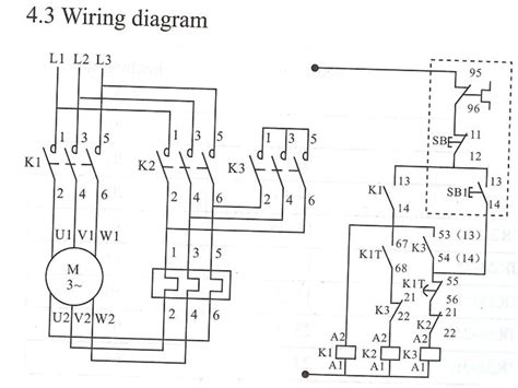8 delta starter wiring diagram with timer