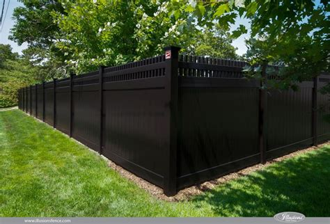 images  illusions pvc vinyl wood grain  color fence
