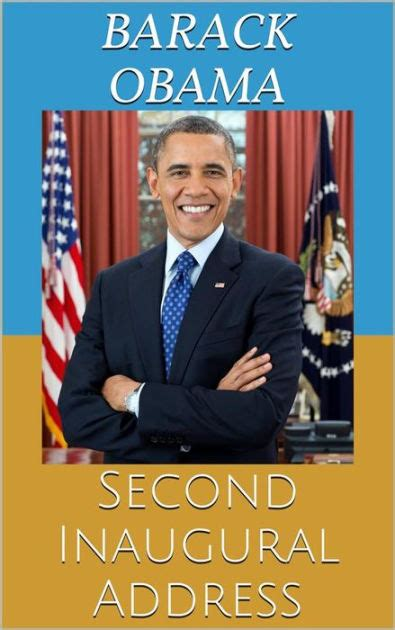 Barack Obama Biography En Espanol | second inaugural address by barack obama nook book