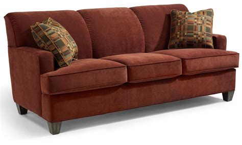 sofa mart st george utah flexsteel dempsey contemporary sofa with track arms