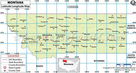 map of the united states longitude montana latitude and longitude map
