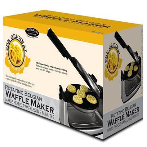 Waffle Maker Mini By mini flip waffle maker kitcheny gadgets and things