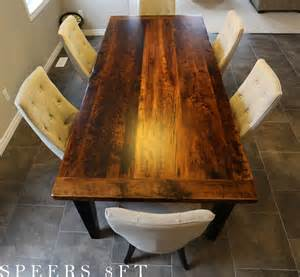 reclaimed wood harvest table in kitchener ontario home blog custom reclaimed wood table in kitchener ontario blog