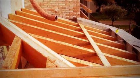 tetti a padiglione come fare un portico in legno
